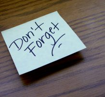 Forgetfulness can have multiple causes