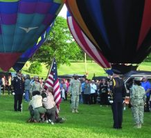 Colorful balloons to fly high over Howard