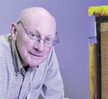 Late-life artist relishes challenge