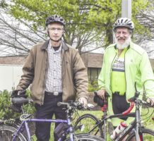 Bicycling for the health of it