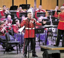 Military bands perform free year-round