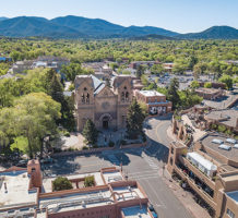 Visiting Santa Fe, Taos' larger neighbor
