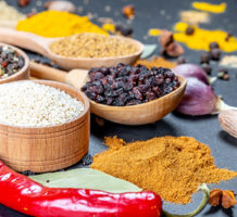 Many spices are natural blood thinners