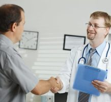 Low-risk technique for prostate biopsies
