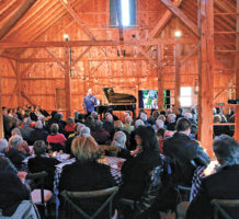 Let's put on a concert in the barn!