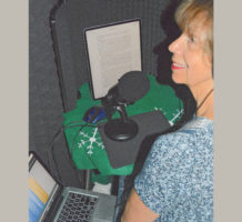 Radio host gives voice to new audiobook
